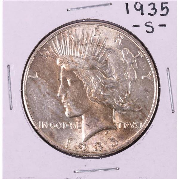 1935-S $1 Peace Silver Dollar Coin