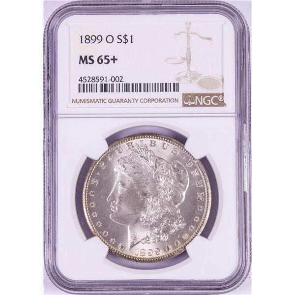1899-O $1 Morgan Silver Dollar Coin NGC MS65+