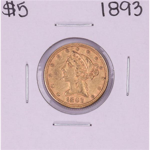 1903 $5 Liberty Head Half Eagle Gold Coin