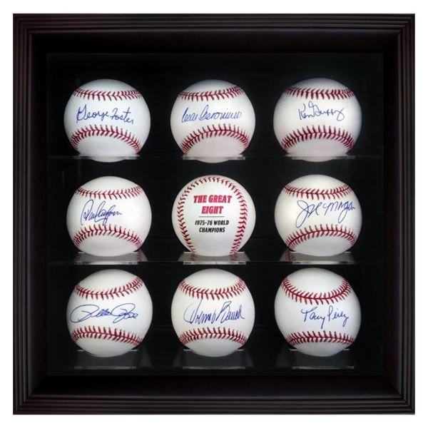 """""""Starting 8 Ball Set"""" Cased Set Of 8 Signed Baseballs"""