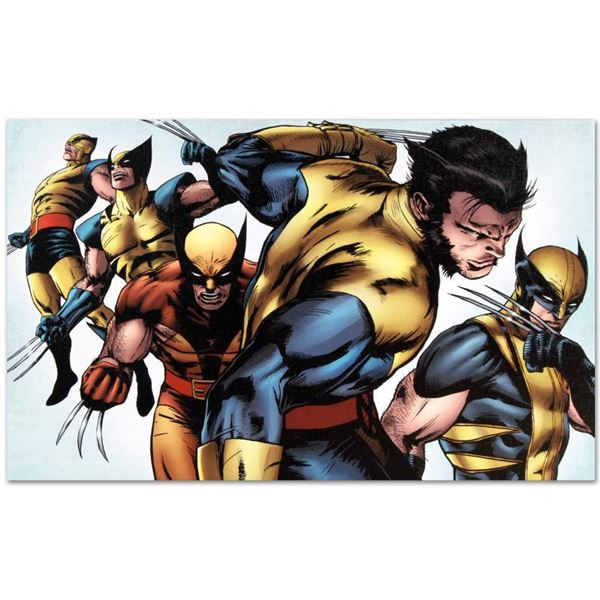 """Marvel Comics """"X-Men Evolutions #1"""" Limited Edition Giclee On Canvas"""