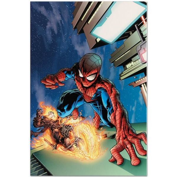 """Marvel Comics """"Timestorm 2009/2099 #4"""" Limited Edition Giclee On Canvas"""