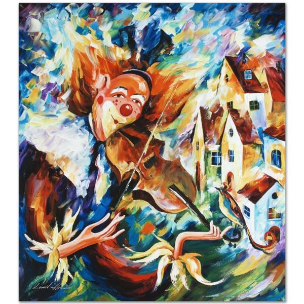 """Afremov (1955-2019) """"For Fun"""" Limited Edition Giclee On Canvas"""