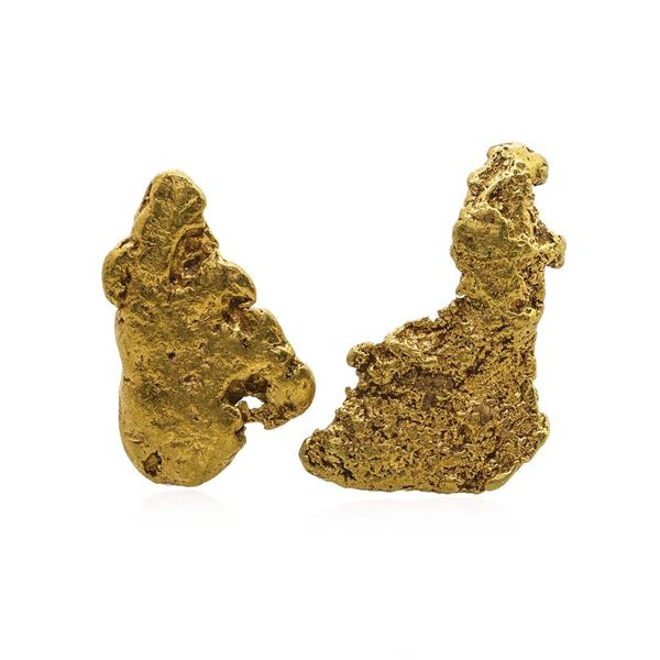 Lot of Gold Nuggets 3.29 Grams Total Weight
