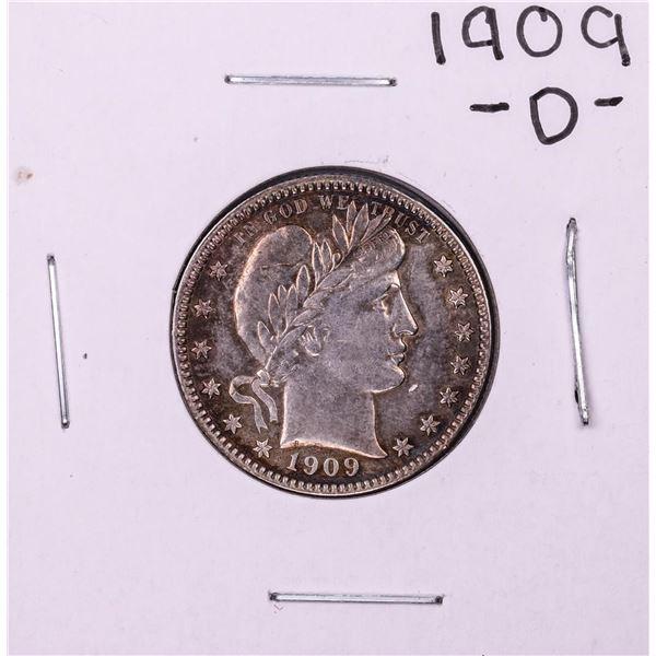 1909-O Barber Quarter Coin