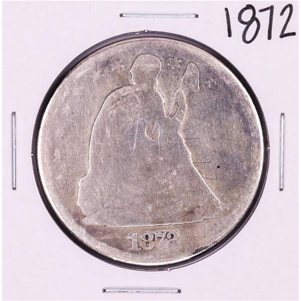1872 $1 Seated Liberty Dollar Coin