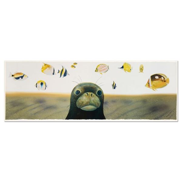 """Wyland """"Hawaiian Sea Life"""" Limited Edition Lithograph On Paper"""