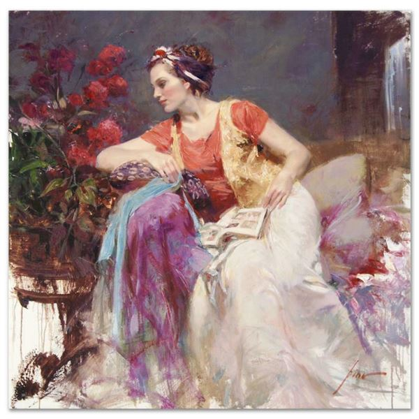 """Pino (1939-2010) """"Serendipity"""" Limited Edition Giclee On Canvas"""