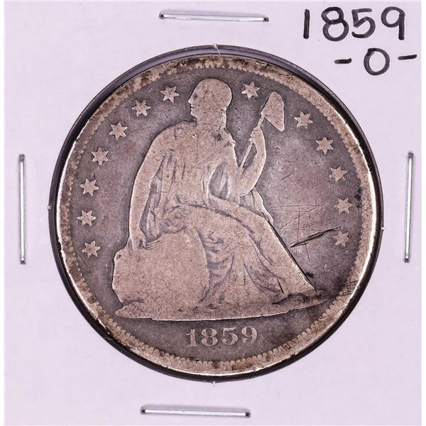 1859-O $1 Seated Silver Dollar Coin
