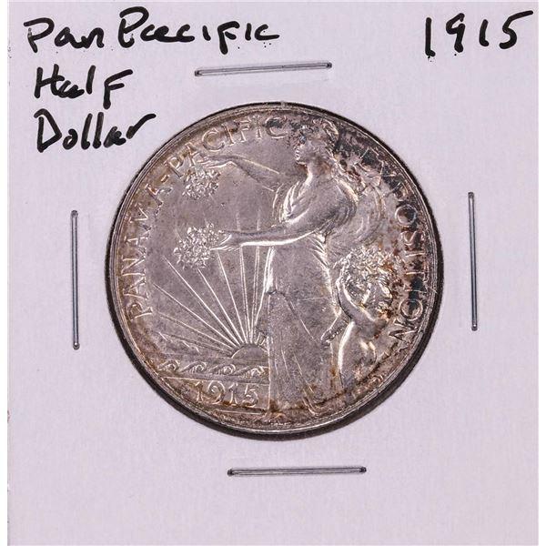 1915-S $1 Pan Pacific Commemorative Half Dollar Coin