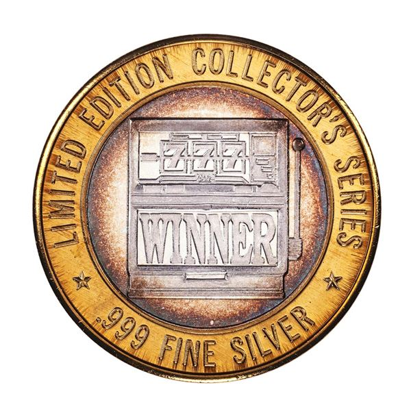 .999 Fine Silver Casino St. Charles Riverfront $10 Limited Edition Gaming Token
