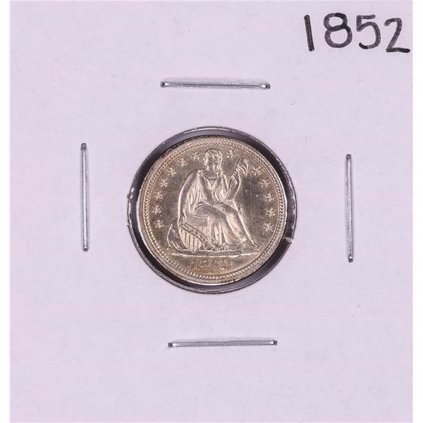 1852 Seated Liberty Dime Coin