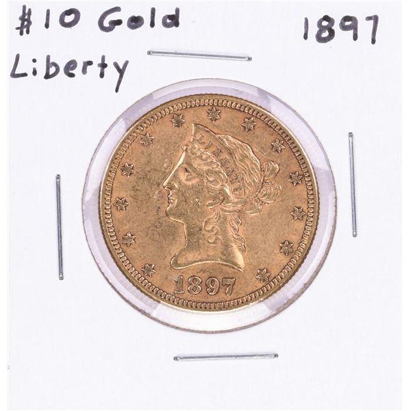 1897 $10 Liberty Head Eagle Gold Coin