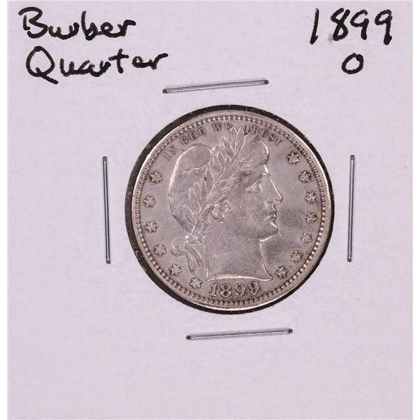 1899-O Barber Quarter Coin
