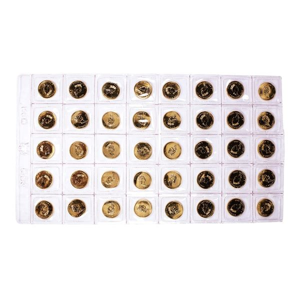 Lot of (40) Sealed 1999 Canadian $5 Maple Leaf Gold Coins