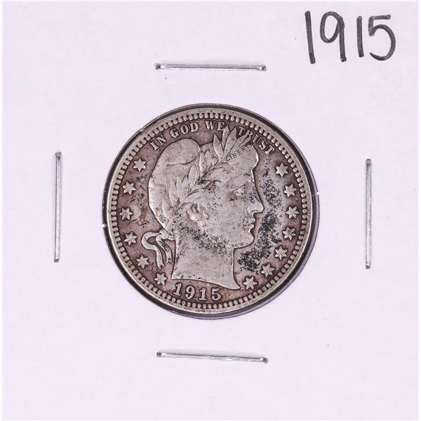 1915 Barber Quarter Coin