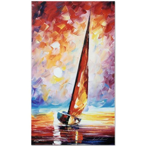 """Afremov (1955-2019) """"For The Sky"""" Limited Edition Giclee On Canvas"""