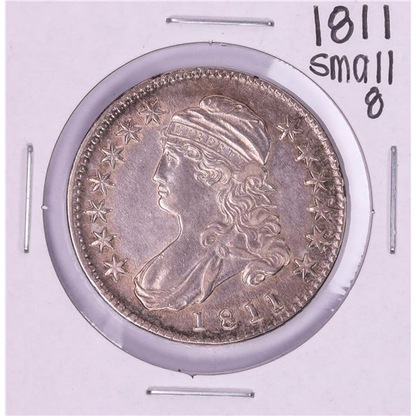 1811 Small 8 Capped Bust Half Dollar Coin