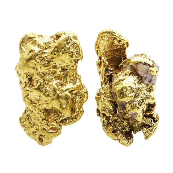 Lot of Gold Nuggets 8.54 Grams Total Weight