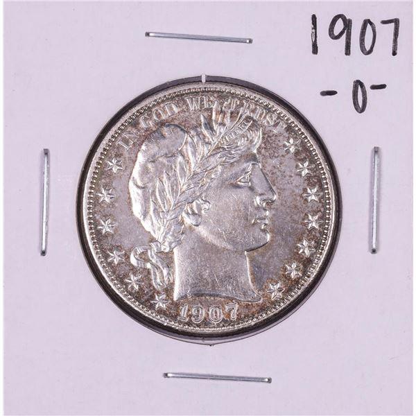 1907-O Barber Half Dollar Coin