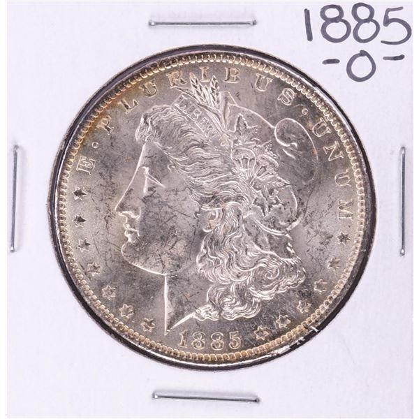 1885-O $1 Morgan Silver Dollar Coin Amazing Toning