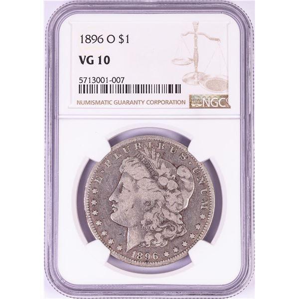 1896-O $1 Morgan Silver Dollar Coin NGC VG10