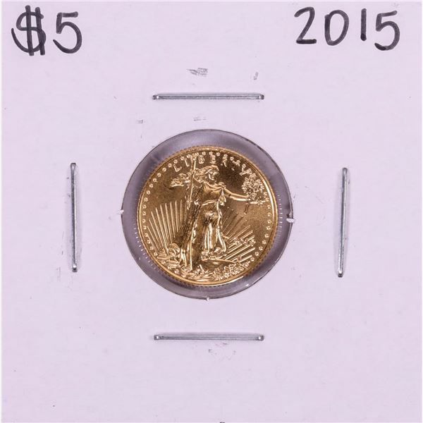 2015 $5 American Gold Eagle Coin
