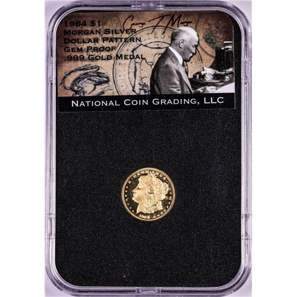 1964 Proof Morgan Dollar Pattern Commemorative 1/10 oz. Gold Coin