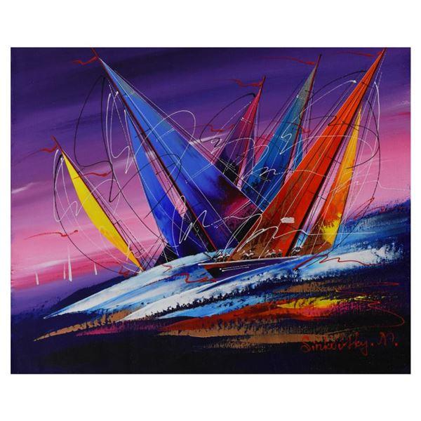 Natalia Sinkovsky Original Acrylic Painting On Canvas