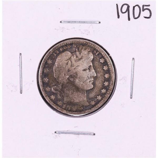 1905 Barber Quarter Coin