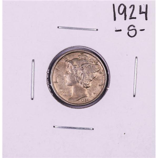 1924-S Mercury Dime Coin