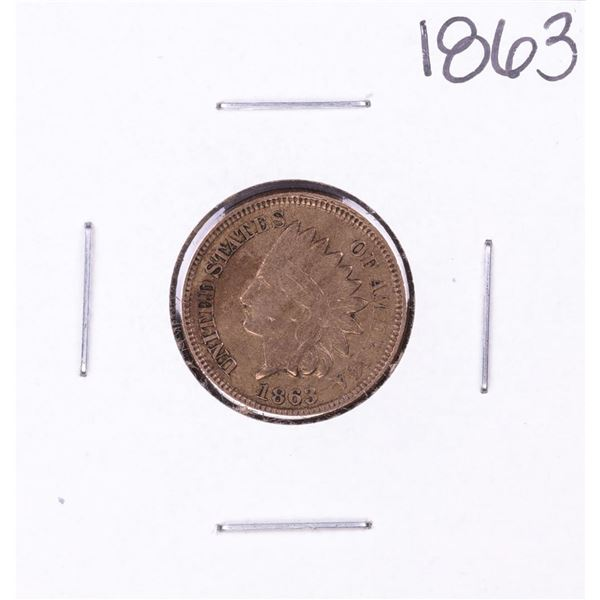 1863 Indian Head Cent Coin