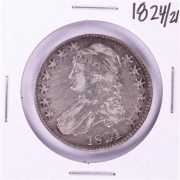 1824/1 Capped Bust Half Dollar Coin