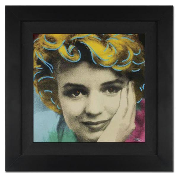 "Ringo Daniel Funes ""Norma Jeanne"" Original Mixed Media On Canvas"