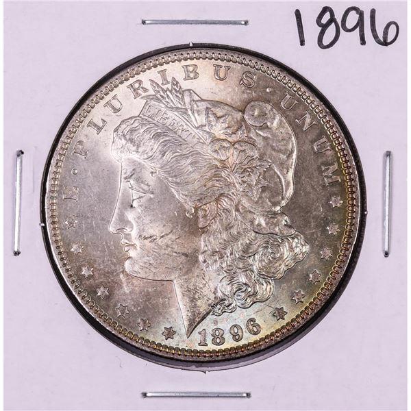 1896 $1 Morgan Silver Dollar Coin Nice Toning
