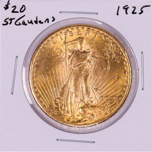 1925 $20 St. Gaudens Double Eagle Gold Coin