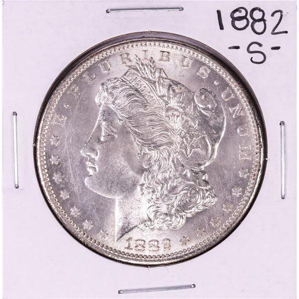 1882-S $1 Morgan Silver Dollar Coin