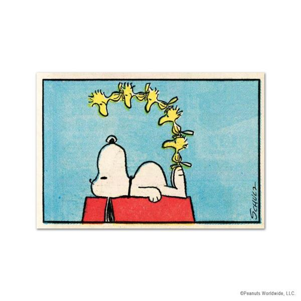 """Peanuts """"Friends"""" Limited Edition Giclee On Paper"""