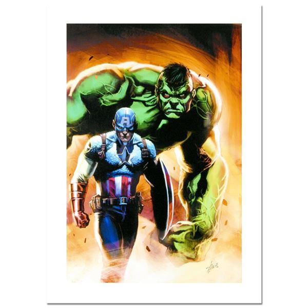 """Stan Lee - Marvel Comics """"Ultimate Origins #5"""" Limited Edition Giclee On Canvas"""