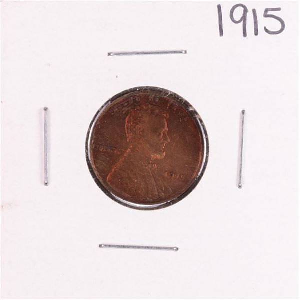 1915 Lincoln Wheat Cent Coin