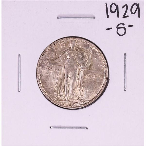 1929-S Standing Liberty Quarter Coin