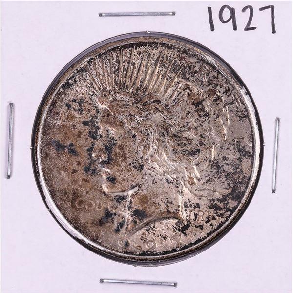 1927 $1 Peace Silver Dollar Coin
