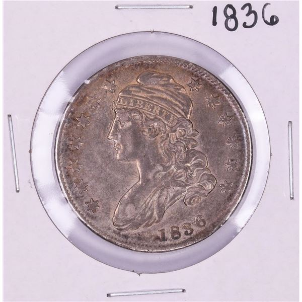 1836 Lettered Edge Capped Bust Half Dollar Coin