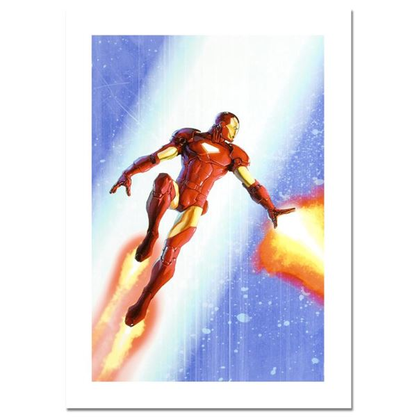 """Marvel Comics """"Iron Man & The Armor Wars #3"""" Limited Edition Giclee On Canvas"""