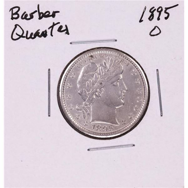 1895-O Barber Quarter Coin