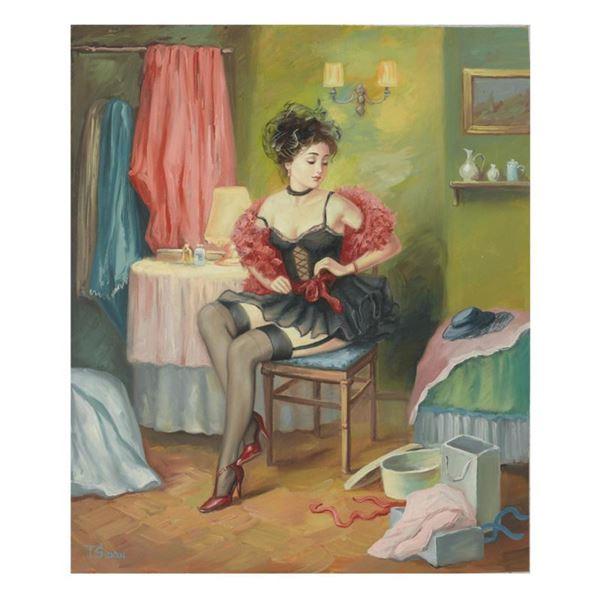"Taras Sidan ""Rebecca"" Limited Edition Giclee On Canvas"