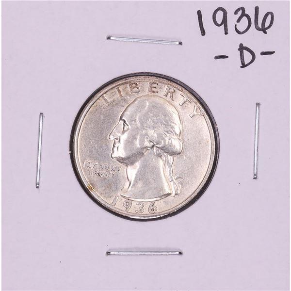 1936-D Washington Quarter Coin