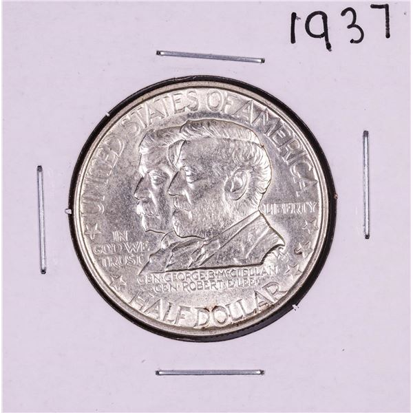 1937 Antietam Half Dollar Silver Coin