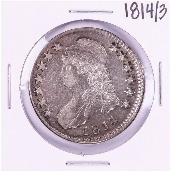 1814/3 Capped Bust Half Dollar Coin