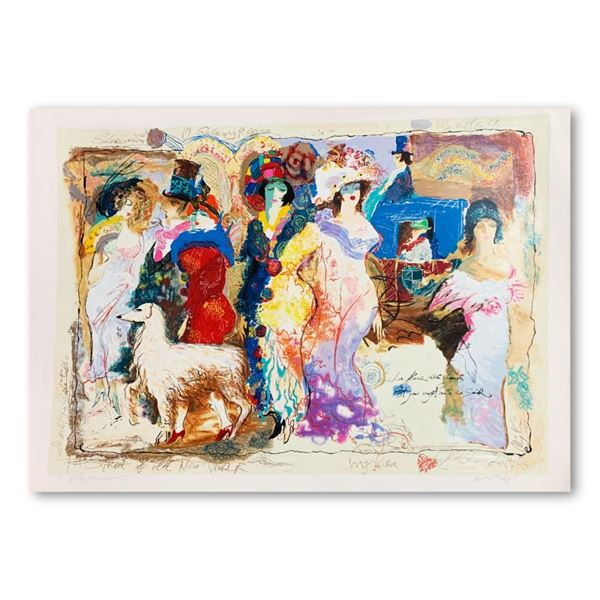 """Alexander & Wissotzky """"On The Town"""" Limited Edition Serigraph On Paper"""